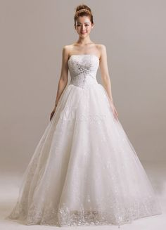 #Milanoo.com Ltd          #Wedding Dresses          #Princess #Ivory #A-line #Floor-Length #Strapless #Rhinestone #Tulle #Wedding #Dress                    Princess Ivory A-line Floor-Length Strapless Rhinestone Tulle Wedding Dress                             http://www.seapai.com/product.aspx?PID=5738485