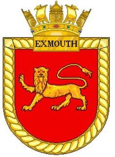 HMS Exmouth H02 Navy Badges, Emblem, Navy Ships, Crests, Royal Navy, Sailor, Patches, Flag, Military