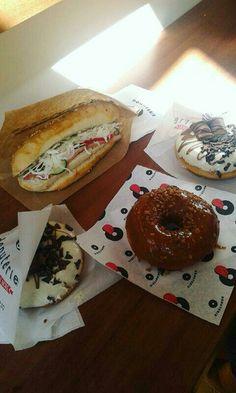 #donuts #sandwich #goodie
