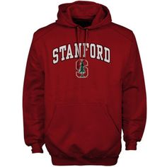 Stanford Cardinal Arch Over Logo Hoodie – Cardinal