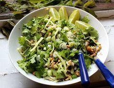 Nuts about food: Burmese ginger salad