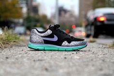 NIKE Lunar Safari Hyperfuse - Violet / Stadium Green | Sneaker | Kith NYC