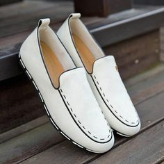 Suede Summer Loafers