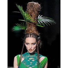 Coiffure et maquillage - haute couture été 2010 - Jean-Paul Gaultier (9)