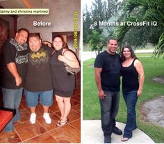 great before and after CrossFit photo and story if you click on it:)