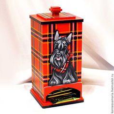 Чайный домик «Скотчик» #box #teabox #scottie