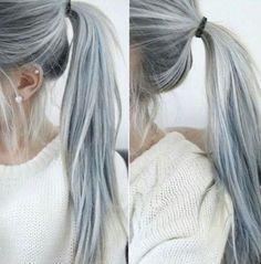 #grannyhair la nouvelle tendance coiffure - Femina
