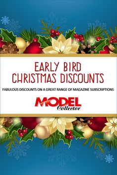 EARLY BIRD CHRISTMAS SUBSCRIPTION OFFERS  We have some fantastic savings available at the moment, and we wanted you to be the first to know.  Kick off the festive season by taking advantage of our fabulous discount offers when you buy your loved one a 12-month gift subscription to their favourite magazine. You could even treat yourself! (UK Only Offer)