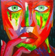 . Colors Woman, Colors, Painting, Art, Art Background, Painting Art, Kunst, Colour, Paintings