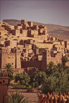 Kasbah Ait Benhaddou, Backdrop to Many Hollywood Epic Films, Near Ouarzazate, Morocco. Photographic print from Art.com.