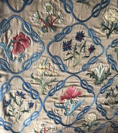Medieval Embroidery, Arts And Crafts Interiors, Edward Burne Jones, Antique Wallpaper, Moroccan Design, Arts And Crafts Movement, William Morris, Wool Yarn, Embroidery Patterns
