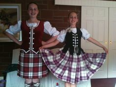 On the left - kilt with red vest (can't see hose) #gigha #red #tartan