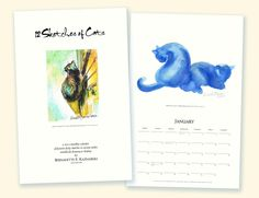 The Creative Cat - Catamount Brushmore, and the 12 Sketches of Cats Calendar