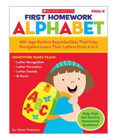 Another great find on #zulily! First Homework: Alphabet Workbook #zulilyfinds