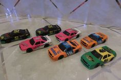 1990 Set of 7 Applause Hardee's Promo 1/64 Days Of Thunder Cars Cole Trickle  #Applause #Chevrolet