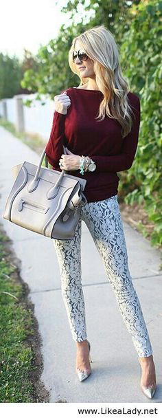 Winter outfit #leggings #sweater #fashion