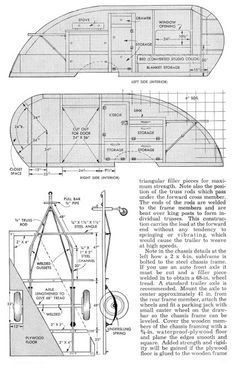 Vintage Teardrop Trailer Campers Chuck Wagon Plans: Wild Goose Teardrop Trailer Plans Finally a place to download these plans.