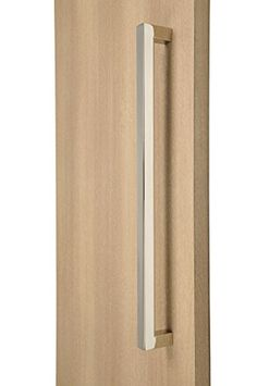 push door handles. Modern \u0026 Contemporary / Commercial Residential 72 Inches X Full Square Shape Handle Push-Pull Stainless-Steel Door - Polished Chrome Finish Push Handles A