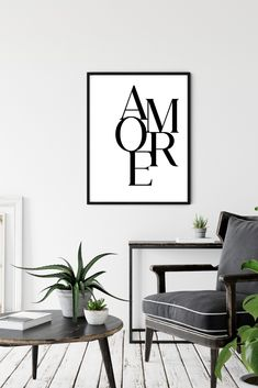 Amore Print, Printable Amore, Amore Wall Art, Amore Digital Print, Amore Poster, Downloadable Prints, Amore wall decor, Amore valentines day Printable Quotes, Printable Art, Printables, Italian Love Quotes, Love Posters, Wall Decor, Wall Art, Digital Prints, Valentines