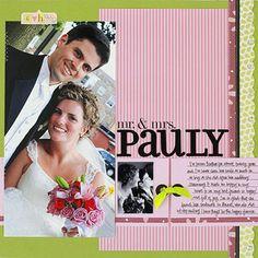Wedding Photo Layout