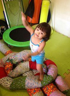 TERAPIA OCUPACIONAL INFANTIL JOHANNA MELO FRANCO: Cobra de Espuma