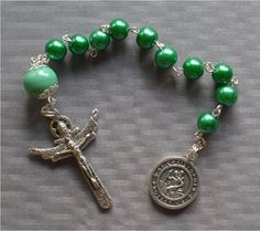 Handmade Saint Christopher US Air Force  8mm by JaysReligiousGifts