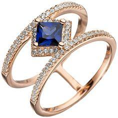 Dreambase Damen-Ring rotvergoldet Silber 1 Tansanit 1 Zir... https://www.amazon.de/dp/B01IO7GZNQ/?m=A37R2BYHN7XPNV