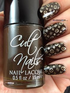 The Silverinator wears Cult Nails Swanbourne