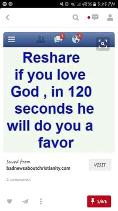 I'm not sharing this cuz I expect him to do me a favor, but be cuz I believe in god himself