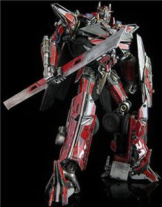 Custom Transformers Dark of the Moon Figures