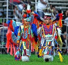 The children of Pow Wow by Sandy/Scarlett Images ♥ away for a while, via Flickr