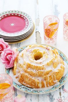 Orange and Rose Water Cake