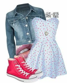 Cute teenager outfit