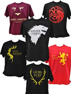 Game of Thrones T-shirts Lots of designs | eBay