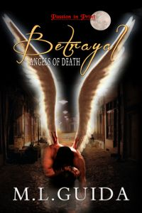 Scythe Angel, an angel of death, wants to save his brother's soul before he kills his angel mate, Heather Bowen, and turns into a demon forever.
