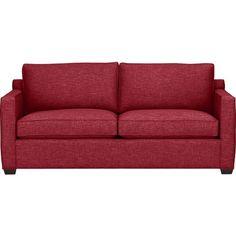 Davis Queen Sleeper Sofa in Sleeper Sofas | Crate and Barrel