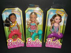 Barbie Chelsea Tamika and Kira Doll Lot NEW MIB! #DollswithClothingAccessories