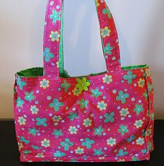Practical Baby... diaper bag for a toddler complete with felt diapers, wipe case, etc.