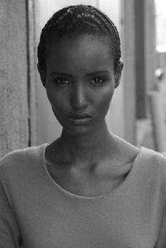 Fatima Siad #blackmodel #beauty #Ethiopia #Somali