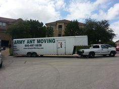 We have a few openings left for September. Reserve time for your move at 1-800-497-5828 or http://www.ArmyAntMoving.com    City of Cedar Park, TX in Texas