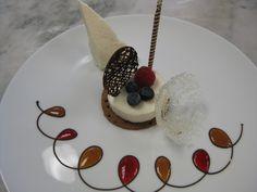 photos by Julia Ferguson of Room for Dessert} Gourmet Desserts, Fancy Desserts, Plated Desserts, Delicious Desserts, Dessert Recipes, Dessert Food, Gourmet Foods, Dessert Plates, Dessert Mousse