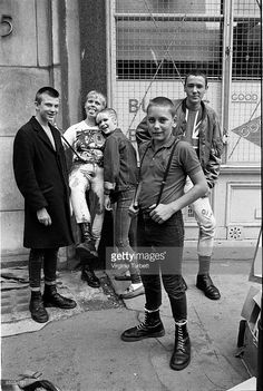 Photo of 80'S STYLE and SKINHEADS and 70'S STYLE and PUNKS; Interviews for New Sounds New Styles