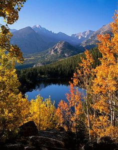 Longs Peak, Glacier Gorge and Bear Lake, Rocky Mountain National Park, Colorado