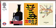 Creative Review - London Underground 150th stamps