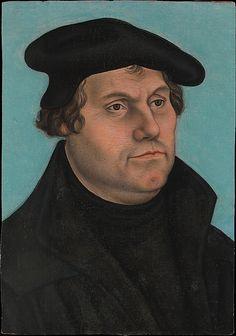 Martin Luther (1483–1546) Workshop of Lucas Cranach the Elder probably 1532