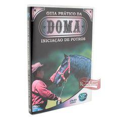 DVD Guia Prático da Doma - Iniciação de Potros - RodeoWest