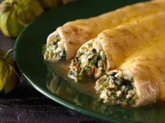 Cacique Spinach-Poblano Enchiladas | Cacique USA