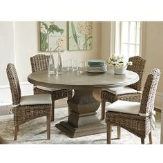 60 Round Concrete Dining Table Hometty Jig Pinterest