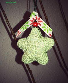Estrella para colgar en el árbol de Navidad.