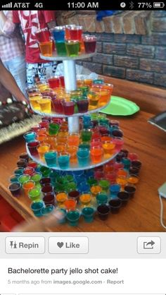 Jello Shot Cake!